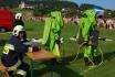 Pokaz ratowictwa chemicznego podczas Pikniku Lotniczego 2009.